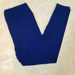 LuLaRoe Royal Blue TC Leggings